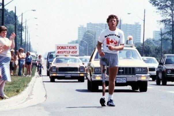 """""""Marathon der Hoffnung"""": Der Typ lief 143 Tage und ein Denkmal wurde für ihn errichtet"""