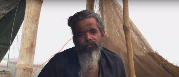 Bewohner der Stadt haben einen alten, obdachlosen, schwachen Mann verwandelt: Er ist jetzt nicht mehr wiederzuerkennen