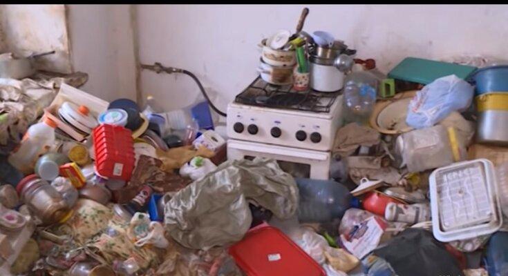 Die Wohnung nach den Mietern. Quelle: Youtube Screenshot