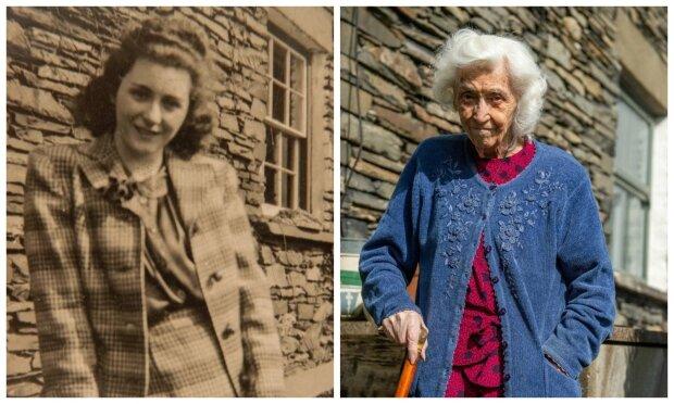 """""""Meine Festung"""": Die Britin feierte das 100-jährige Bestehen in dem Haus, in dem sie seit 1921 lebt"""