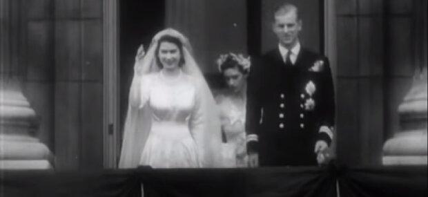 Königin Elizabeth II und Prinz Philip. Quelle:Screenshot YouTube