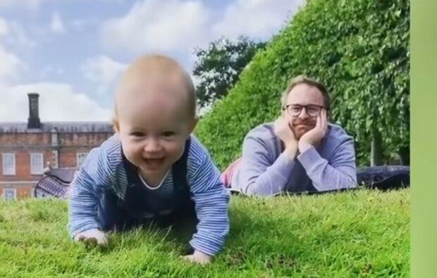 Erstaunlicher Zufall in der Familie. Quelle: Screenshot YouTube