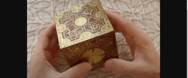 Die geheimnisvolle Box. Quelle: Youtube Screenshot