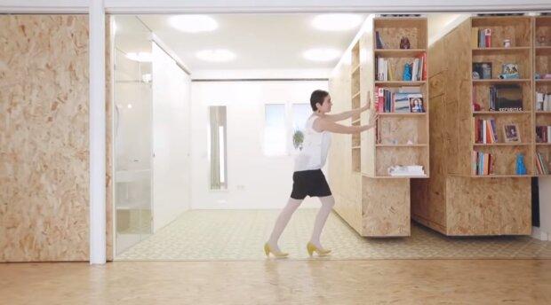 Geheime Tür. Quelle: Screenshot YouTube