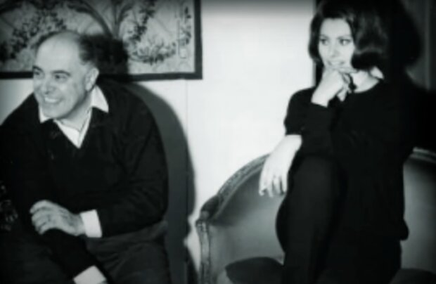 Sophia Loren und Carlo Ponti. Quelle: Screenshot YouTube