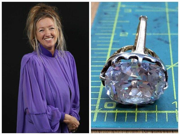 Ein versehentlicher Kauf des Rings für 10 Euro machte die Besitzerin 33 Jahre später zur Millionärin