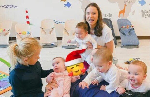 Kristina mit den Kindern. Quelle: Screenshot Youtube