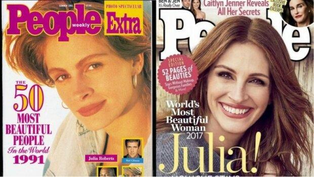 Eine der schönsten Frauen der Welt, Julia Roberts, wurde nach fünfzig Jahren nur noch schöner