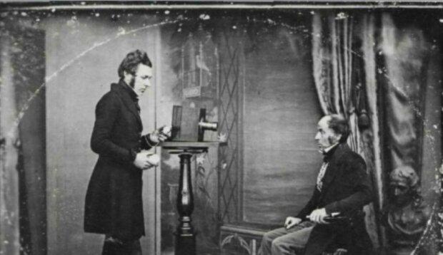 Zu Beginn der Entwicklung der Fototechnik