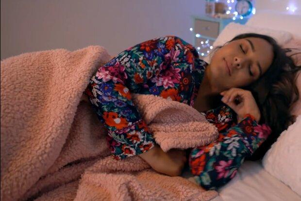 Gesunder Schlaf. Quelle: YouTube Screenshot