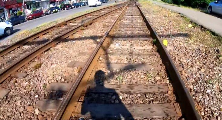 Eine Eisenbahn. Quelle: Screenshot YouTube