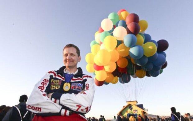 """Auf den Ballons über den Atlantik: Wie Jonathan Trapp seinen """"verrückten"""" Traum verwirklichte"""