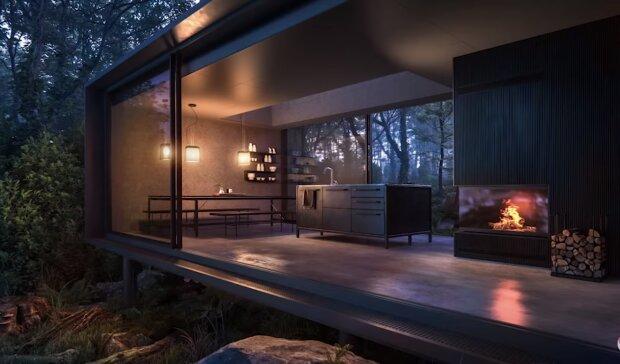 Ungewönliches Haus. Quelle: Screenshot YouTube