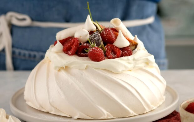 Pavlova-Torte. Quelle: Screenshot Youtube