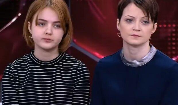Sarah und ihre Mutter. Quelle: YouTube Screenshot