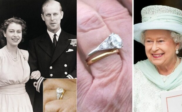 Welche geheime Gravur auf dem Ehering von Königin Elizabeth steht