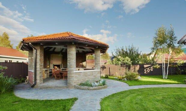 Ideen für den Bau eines Pavillons im Garten