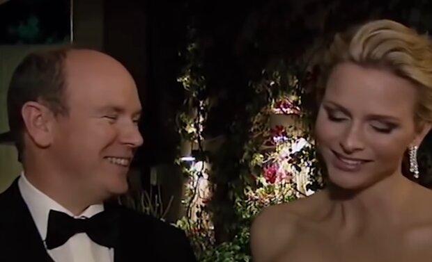 Fürst von Monaco und Fürstin Charlene. Quelle: YouTube Screenshot