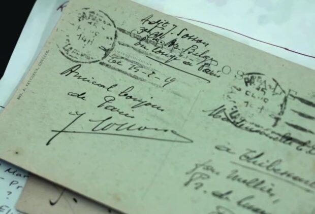 Ein Mann schickte einen Brief an seine Familie und er kam an: nach fast 80 Jahren