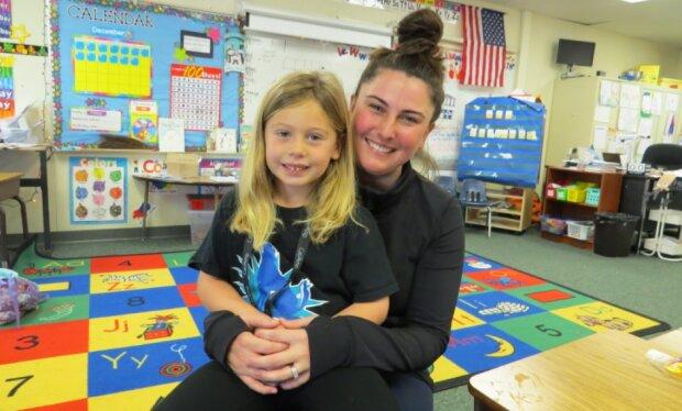 Ein fünfjähriges Mädchen hat herausgefunden, wie man die Schulden für das Mittagessen von 123 Kindergartenkindern begleichen kann