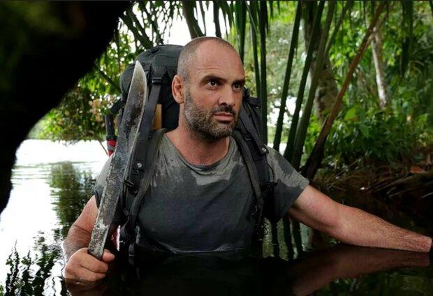 Ed Stafford auf der Insel Fidschi