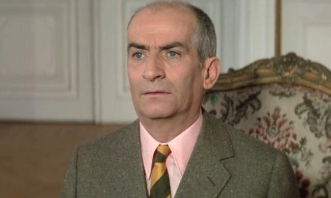 Louis de Funès. Quelle: Screenshot Youtube