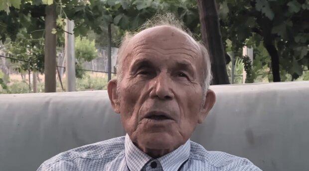 Der Opa. Quelle: Screenshot YouTube