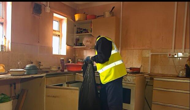 Schmutzige Küche. Quelle: YouTube Screenshot