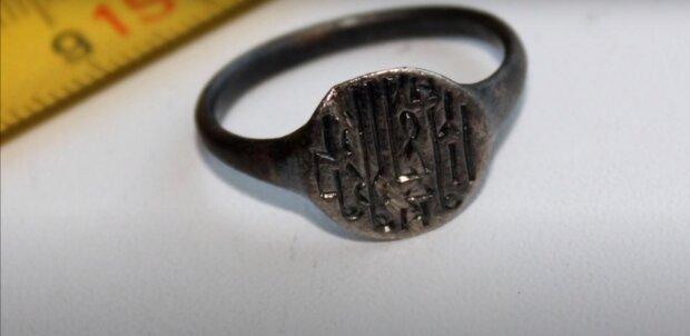 Mittelalterlicher Ring. Quelle : Screenshot YouTube