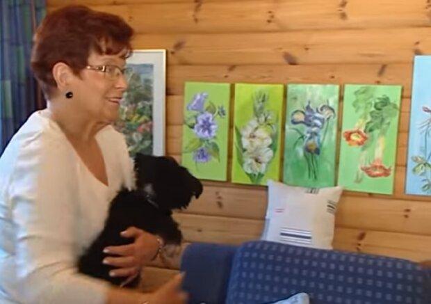 Echter Freund: Der Hund flog 2000 Kilometer, um zu einem Freund einer einsamen 69-jährigen Frau zu werden