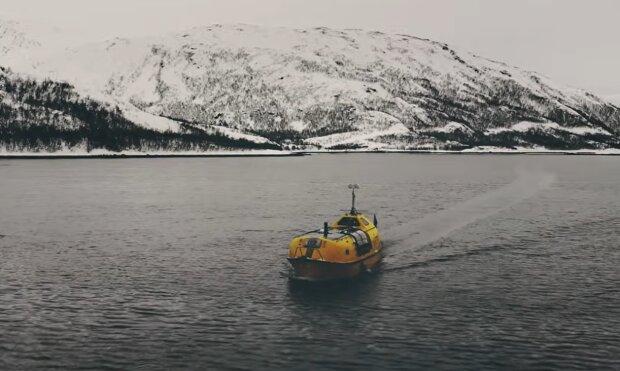 Ungewöhnliches Boot. Quelle: YouTube Screenshot