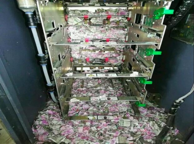 Es war lecker: Wie die Mäuse in den Geldautomaten kletterten und das ganze Geld dort auffraßen