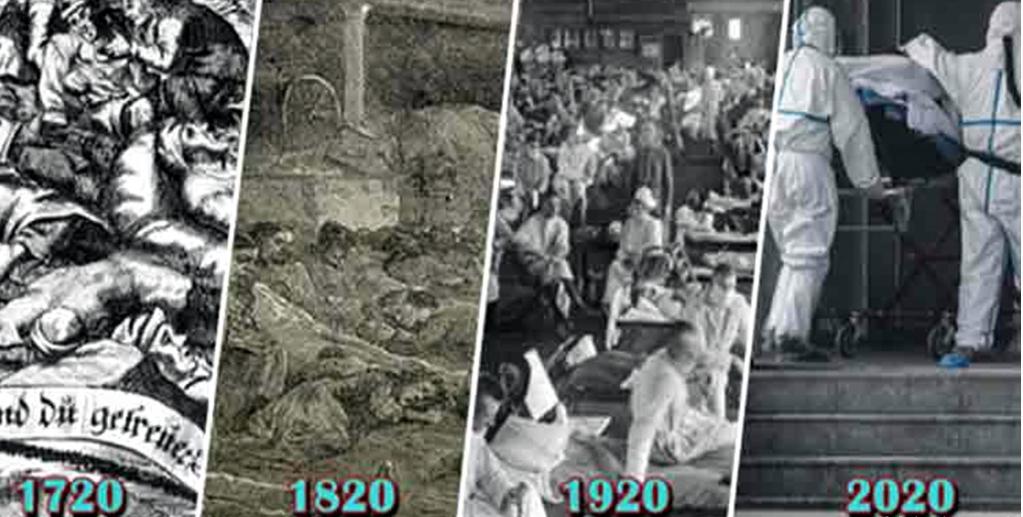 Alle 100 Jahre Pandemie