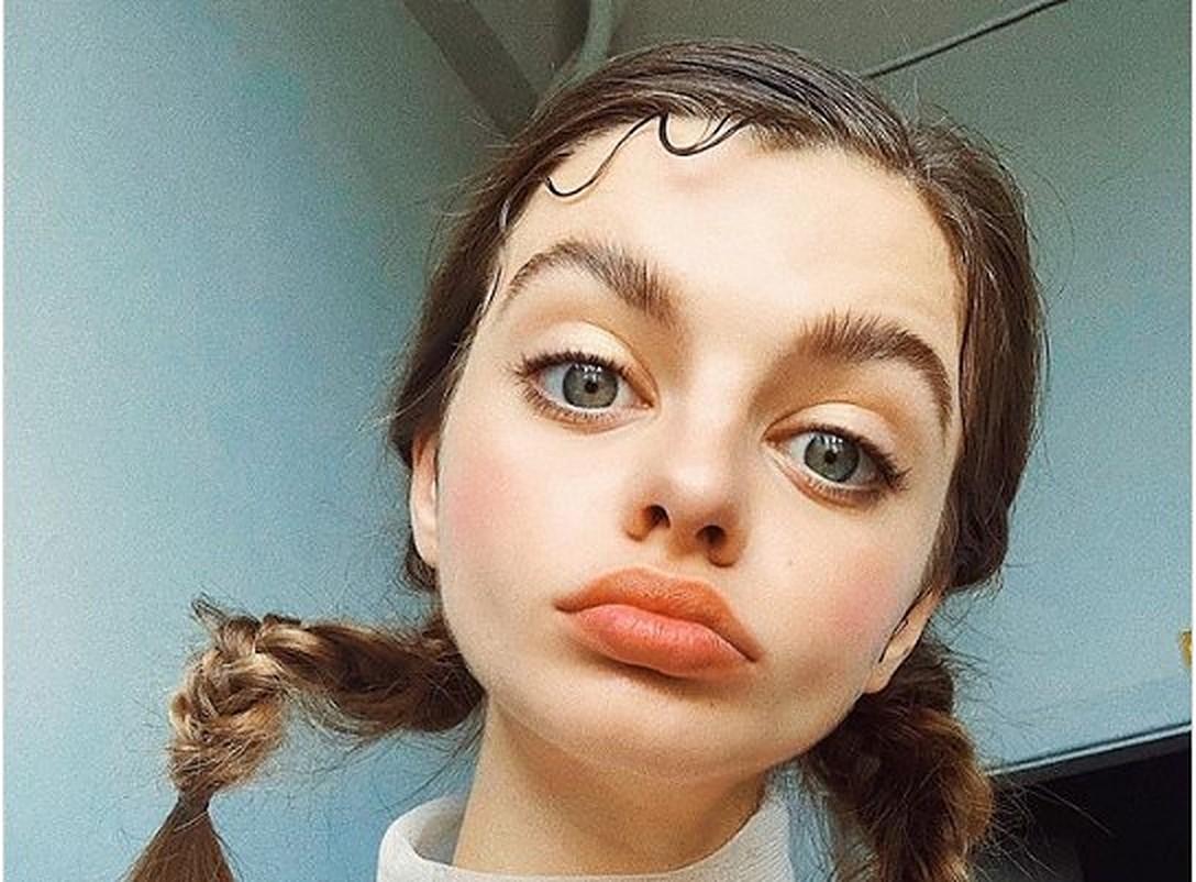 Wie sieht das Mädchen mit den größten Augen der Welt aus