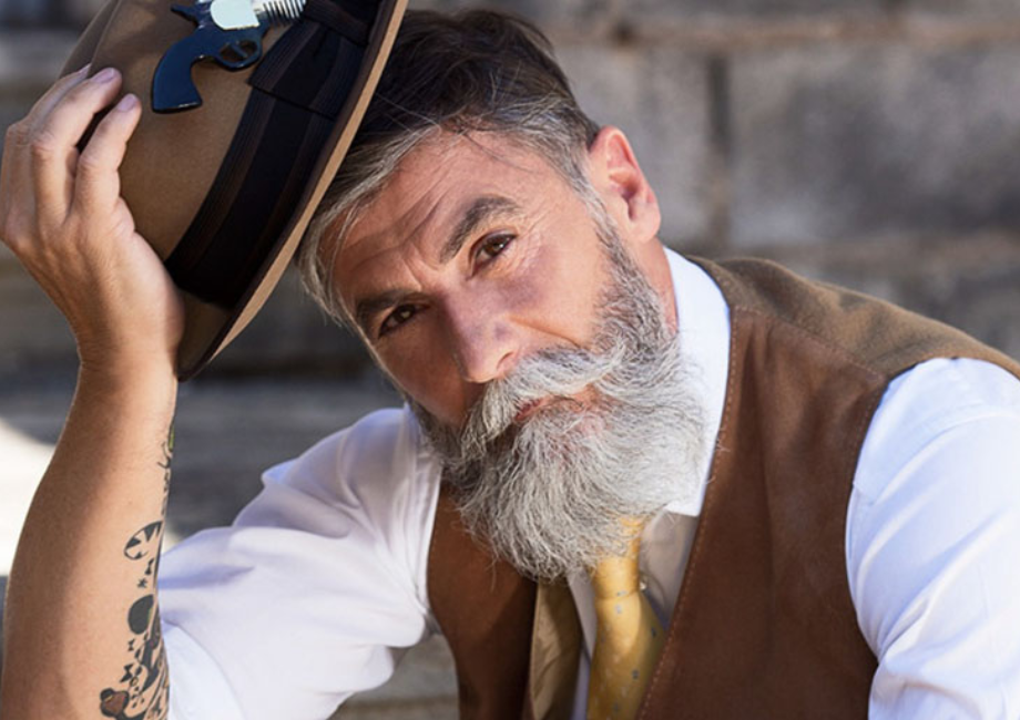 Es ist nie zu spät: Wie ein 60-jähriger Mann zum Modell