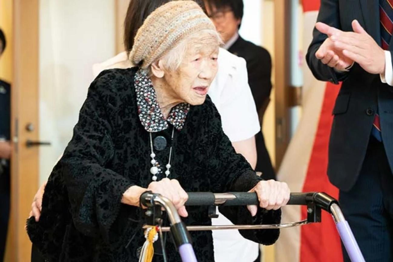 Kane Tanaka: Wie es der ältesten Frau des Planeten geht